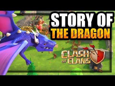 Where did the Dragon come from? Why isn't the drag in Clash Royale | The Dragon's Origin Story