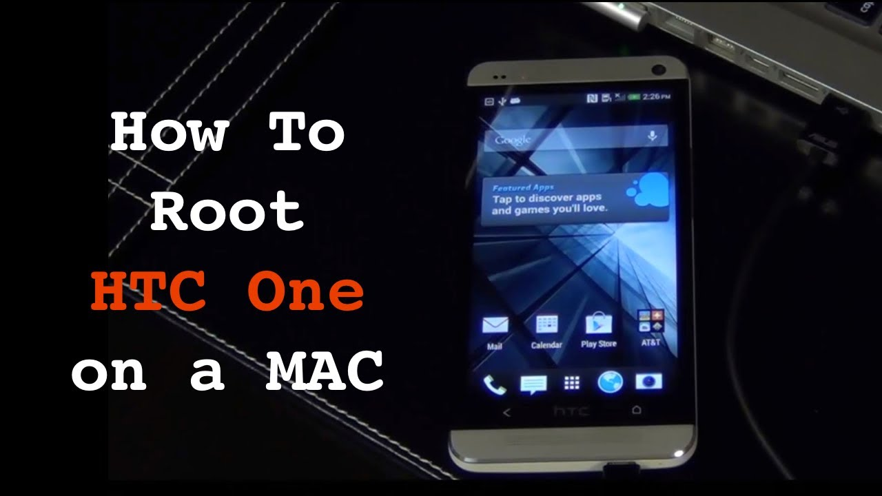 How to root the HTC One (M8)