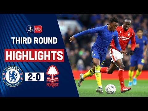 Hudson-Odoi Shines With Goal & Assist! | Chelsea 2-0 Nottingham Forest | Emirates FA Cup 19/20
