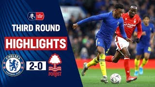 Hudson-Odoi Shines With Goal amp Assist  Chelsea 2-0 Nottingham Forest  Emirates FA Cup 1920