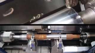 CNC Lathe for Railway Axle Manufacturing - DANOBAT TCN Lathe