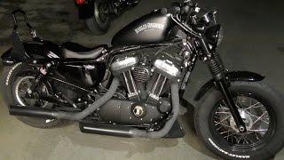 Repeat youtube video Delboy's Garage, Burley Slammer shocks, Harley 48.