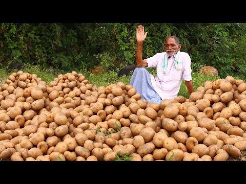Roasted Garlic Potatoes Recipe | Crispy Garlic Potatoes | Crispy & Fluffy Potatoes | Grandpa KItchen
