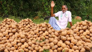 Roasted Garlic Potatoes Recipe   Crispy Garlic Potatoes   Crispy & Fluffy Potatoes   Grandpa KItchen