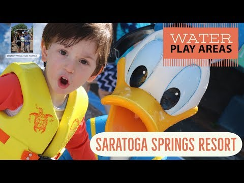 Saratoga Springs Pool Kid | Pools | Water Play Areas for Kids | Disney Vacation Planning