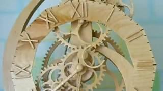 Деревянные часы Тукан(, 2015-02-04T14:49:29.000Z)