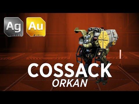 Cossack Orkan - War Robots - Gameplay (Yamantau)