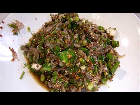 Shrimp Salad - Laos Food recipe
