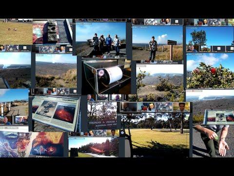 Virtual Photo Walks at Kīlauea volcano's Crater Rim Trail Hawaii