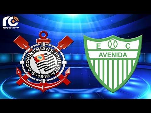 Corinthians x Avenida-RS   AO VIVO   Copa do Brasil