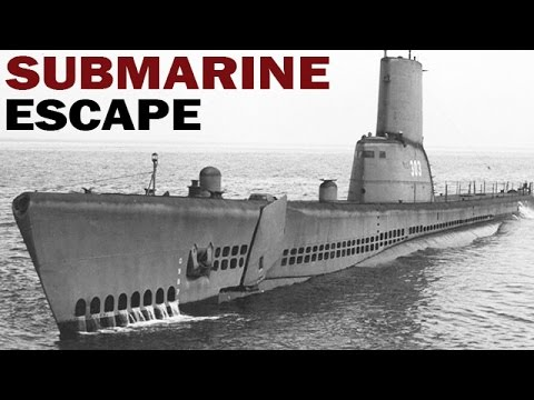 How to Escape a Sinking Submarine | US Navy Training Film | 1953