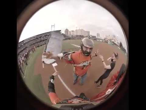 Fresno Grizzlies 4/4/19 Home Opener Skydiving VR 360