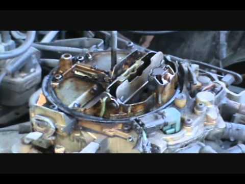 Fix quadrajet carb, 1987 Pontiac Grand Prix 305  YouTube