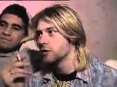 Kurt Cobain talks about Pearl Jam - Interview / intervista MTV