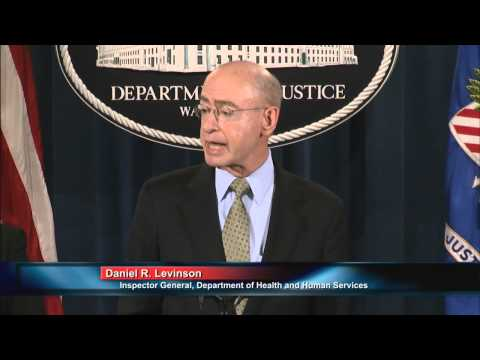 Attorney General Lynch Announces A National Medicare Fraud Takedown