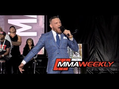 "Thumbnail: Conor McGregor Attacks Floyd Mayweather's Stripper Bit##es and Doubles Down ""Dance For Me Boy"""