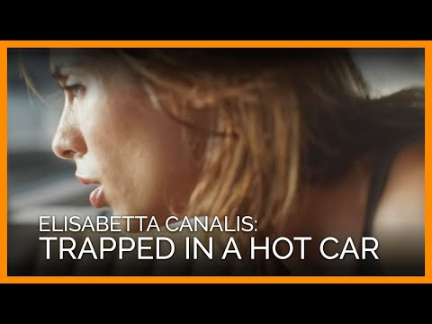 Elisabetta Canalis: Trapped in a Summer Scorcher