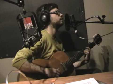 PHILIPPE B - Je n'irai pas à Bilbao - LIVE @ CISM 89,3 FM