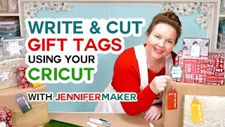 Cricut Gift Tags: How to Write & Cut Them (+ Free Templates & a Penwriting Font!)