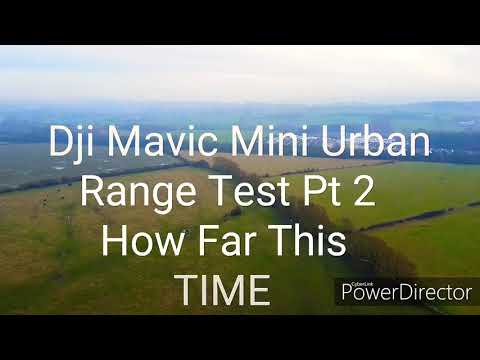 No FCC Hack Needed Dji Mavic Mini Urban Range Test Pt 2 (EPIC RANGE MUST WATCH)