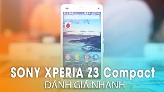 Đánh giá SONY XPERIA Z3 COMPACT: Bản thu gọn hoàn hảo của Sony Z3!