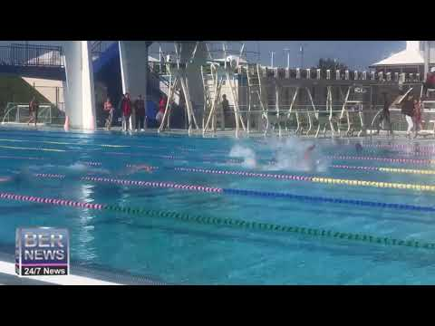 Swimming Meet At National Sports Center, Jan 11 2020