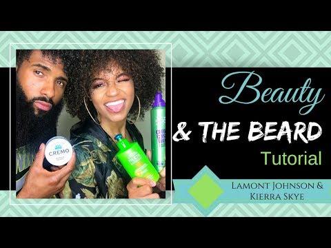 Beauty and the Beard: Lamont Johnson's  hair & beard routine using Cremo & Garnier Fruits Products