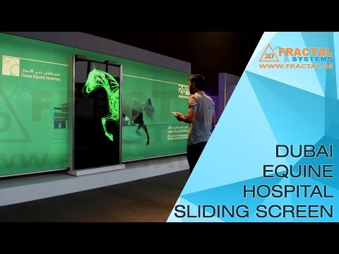 Dubai Equine Hospital Sliding Screen