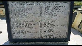 Nama Ulama & Santri Yang Di Bunuh oleh  PKI di Tahun 1948.