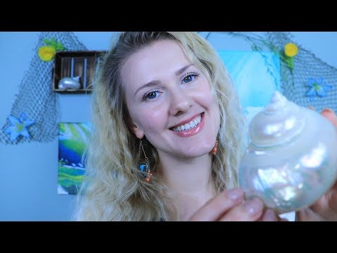 We Shell Relax 🐚 ASMR 🐚 Soft Spoken ○ Tapping ○ Waves ○ Meditation