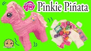 My Little Pony Pinkie Pie Pinata Toy Surprise with Handmade Blind Bags - Cookieswirlc
