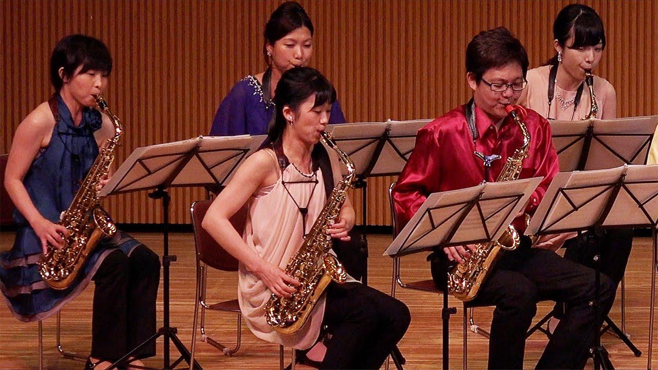 Nuovo Cinema Paradiso Mi-Bémol Saxophone Ensemble