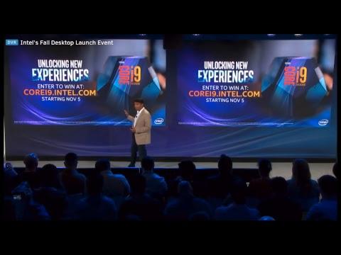 Intel's Fall Desktop Launch Event - I9 9900K, I7 9700K, I5 9600K