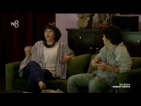 komedi türkiye  ceren taşçinin iyi ki teknoloji var skeci 1.sezon 11.bölüm