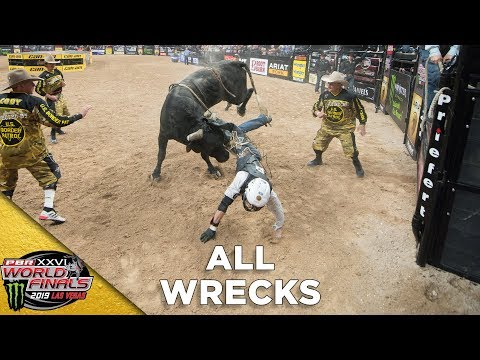 ALL WRECKS FROM PBR WORLD FINALS | 2019