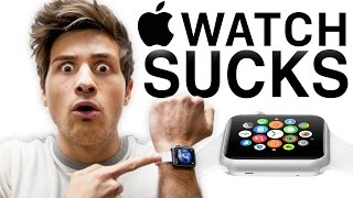 APPLE WATCH SUCKS(SUBSCRIBE for more Smosh ▻▻ http://smo.sh/SmoshSub RACIST APPLE EMPLOYEE (BTS) ▻▻ http://smo.sh/AppleRacism SIRI TRIED TO KILL ME ..., 2015-03-13T20:03:12.000Z)