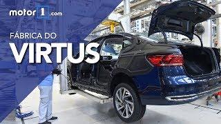 Veja como o novo Volkswagen Virtus é produzido no Brasil