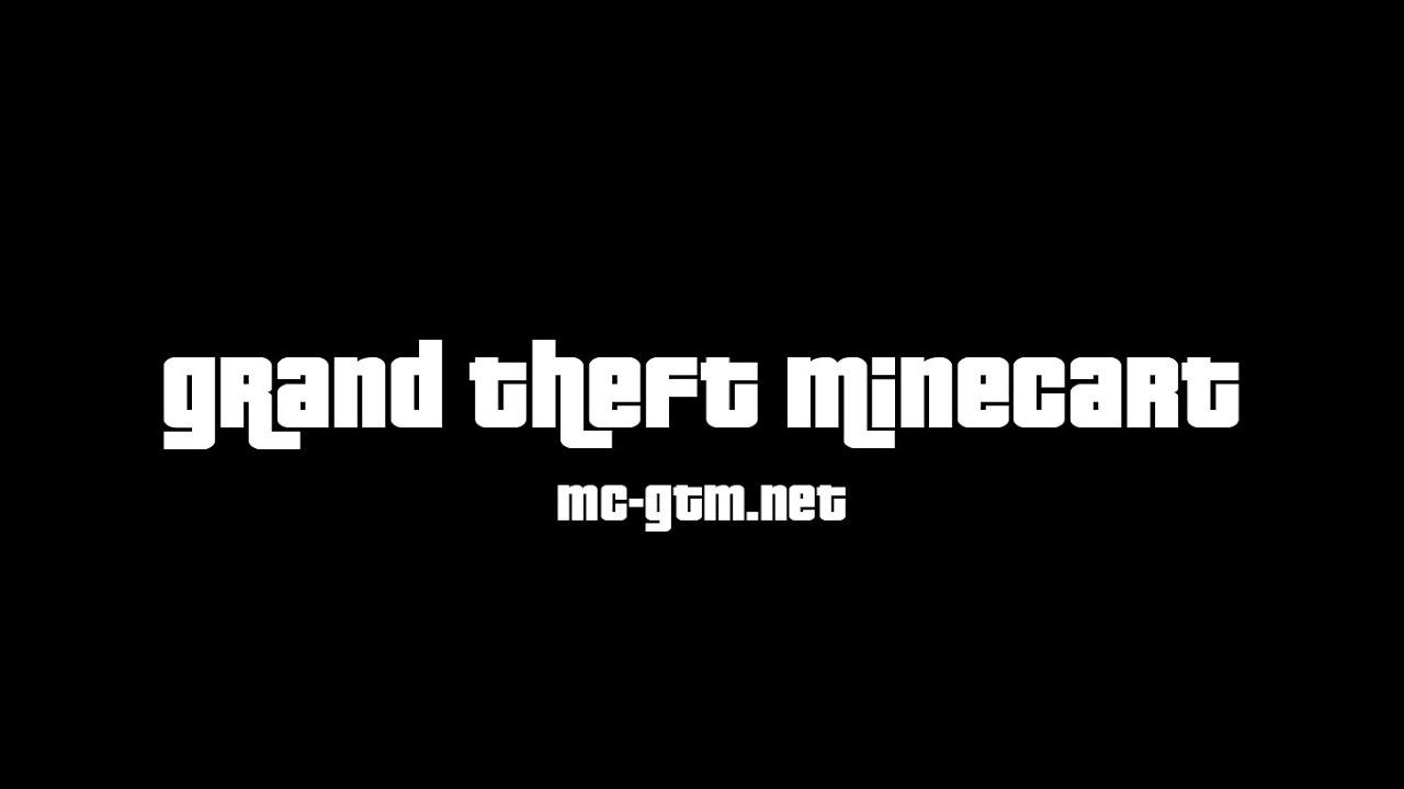 Grand Theft Minecart Gta In Minecraft Trailer Youtube