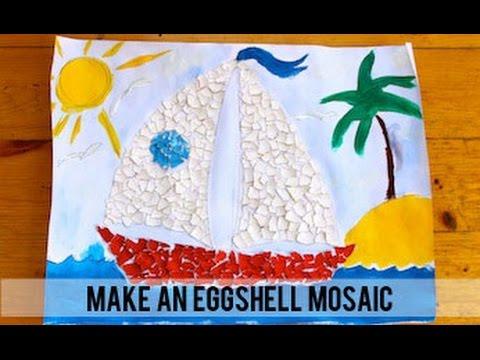 How To Make An Eggs Mosaic