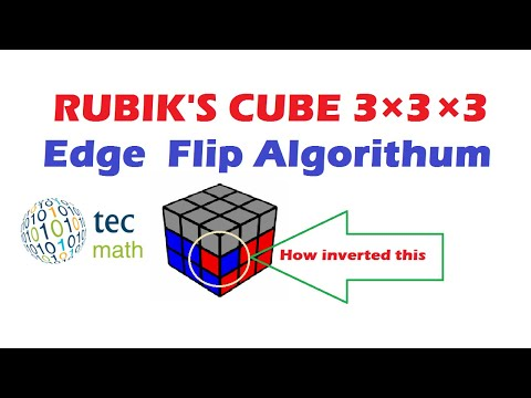 How to Flip an Edge in 2nd layer of Rubik's Cube