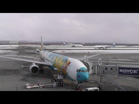 """The Big Airport of Hokkaido"" New CHITOSE Airport (CTS/RJCC)"