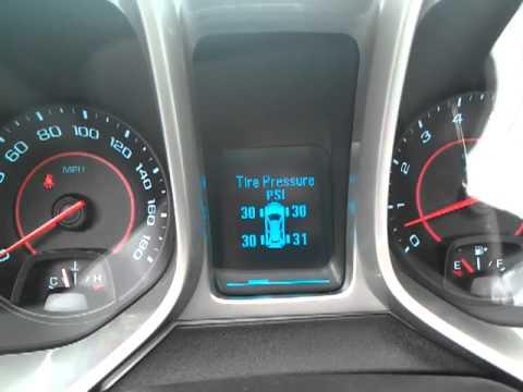 Chevy Camaro DIC Vehicle Info Menu  Speed Warning  YouTube