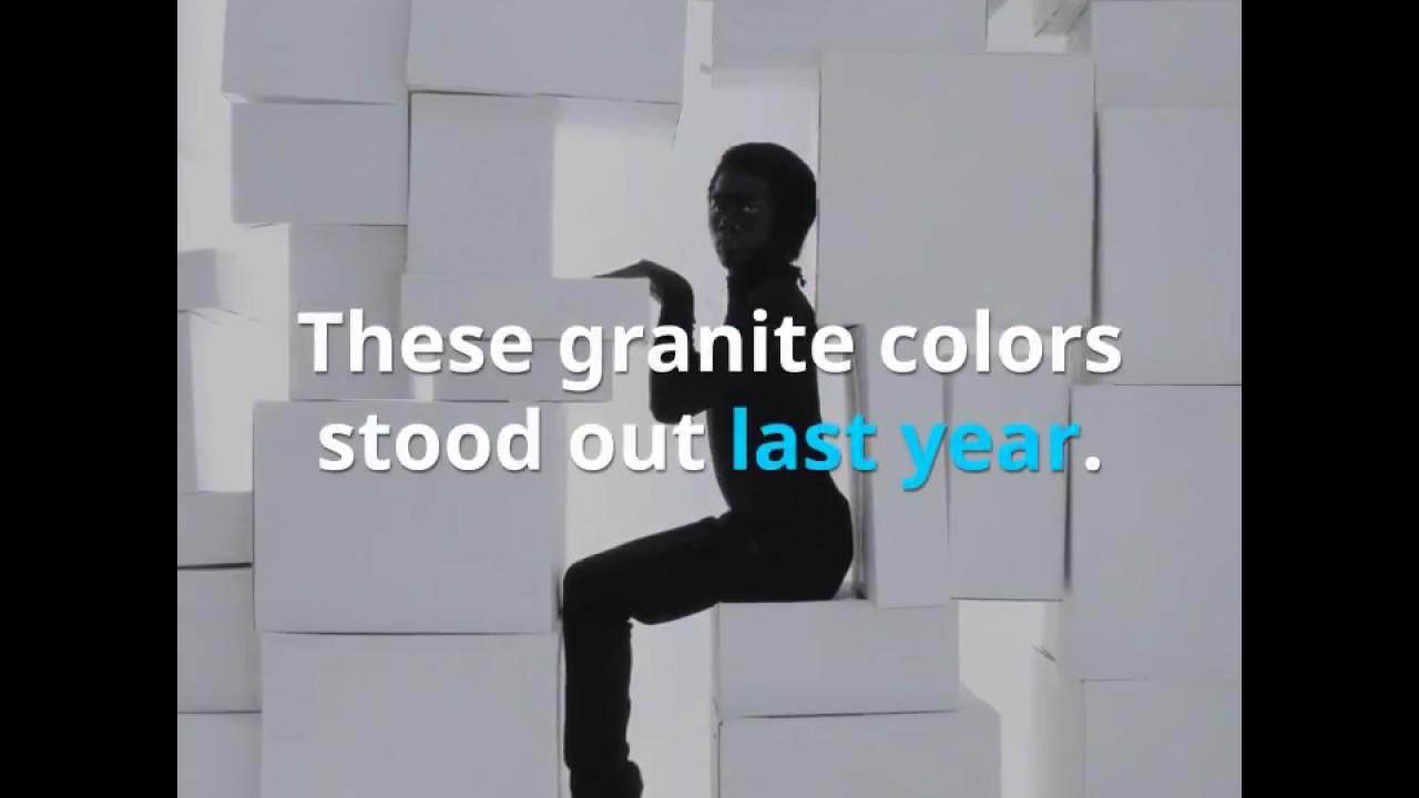 5 Most Popular Granite Colors of 2018