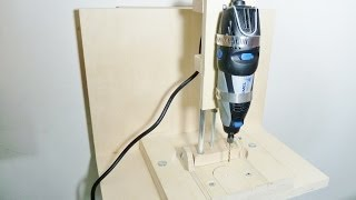 Repeat youtube video Making a horizontal/vertical mini drill press