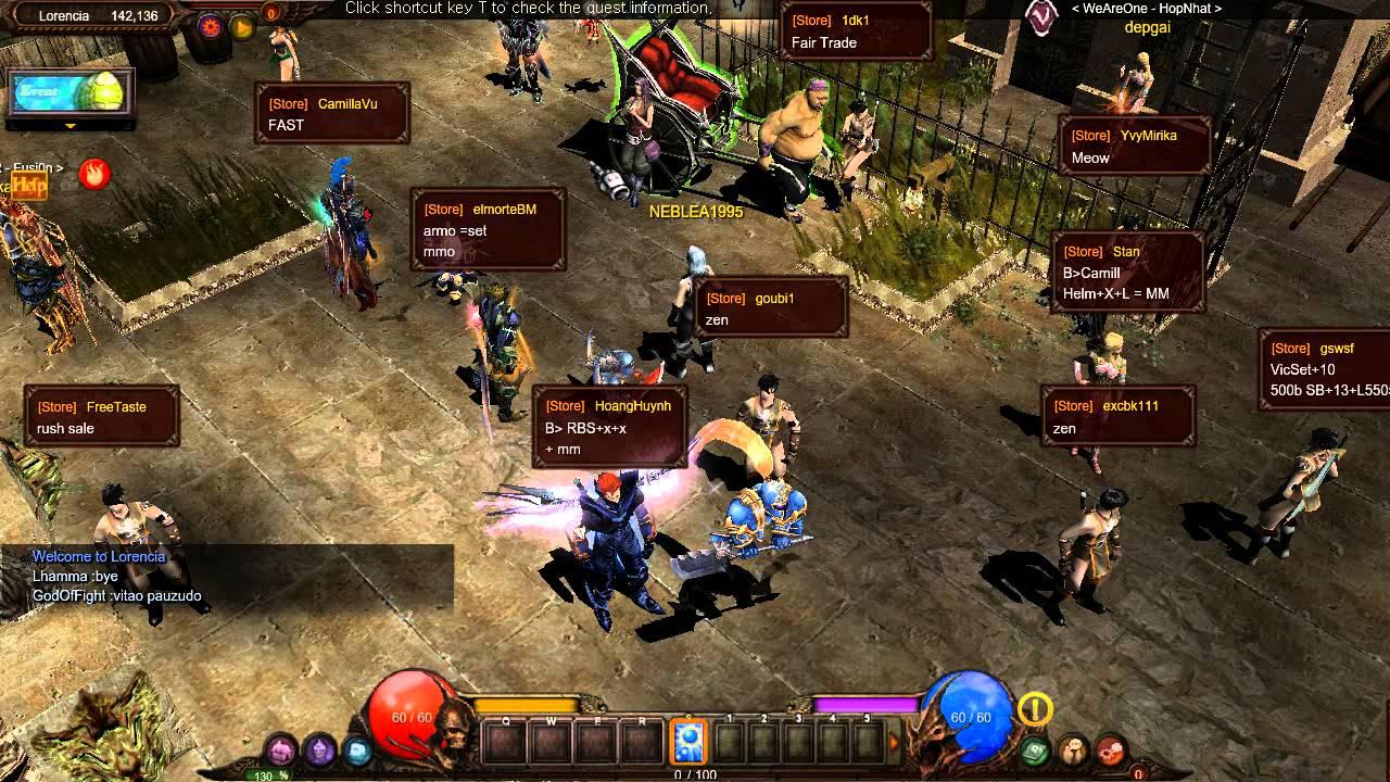 Mu Online Gameplay - First Look - YouTube