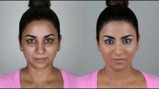The BEST FLAWLESS FOUNDATION ROUTINE ever! (Beginner friendly/long lasting)