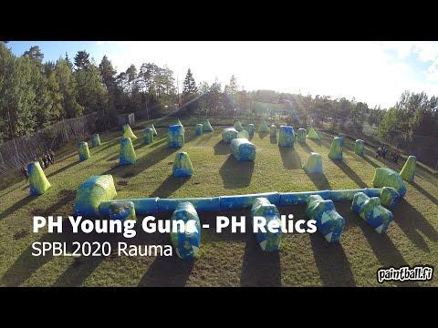 PH Young Guns vs PH Relics - SPBL2020 Rauma