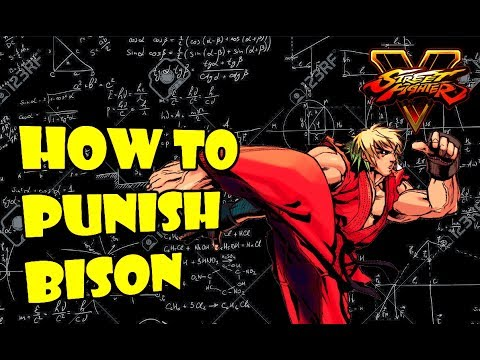 SFV S2.5 Ken - Bison Frame Data + Punishes (With Commentary)