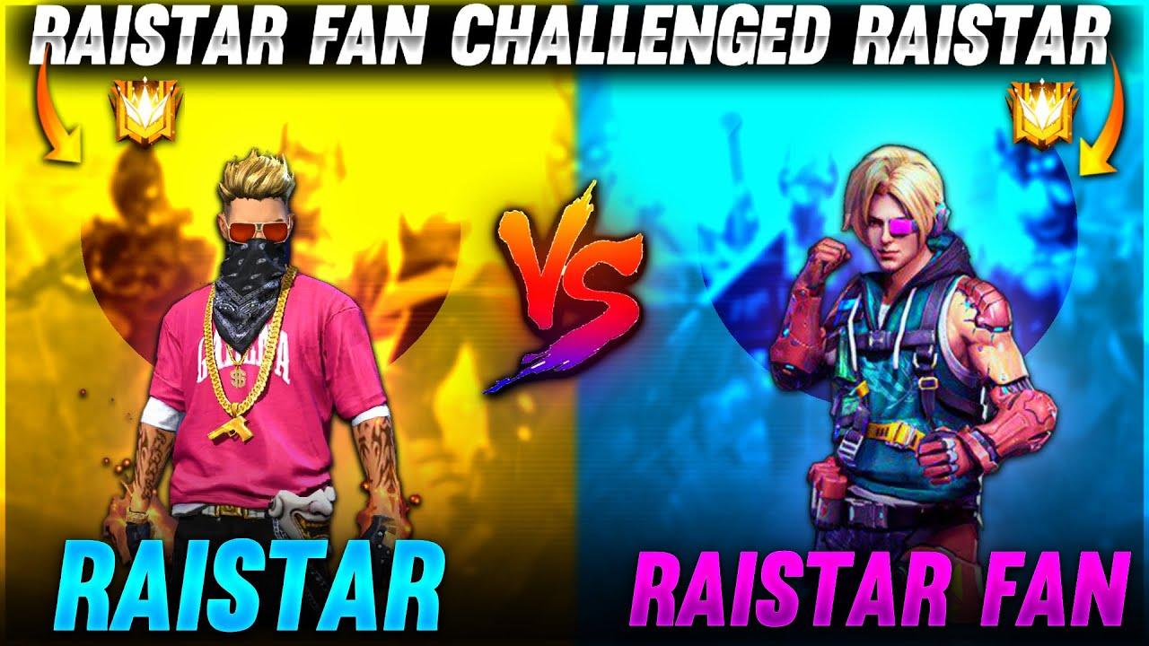 Raistar Fan Challenged Raistar What ??😳😲   Garena Free Fire