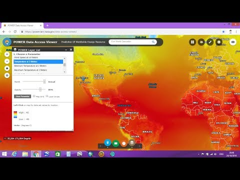 How To Download Climate Data From NASA Website
